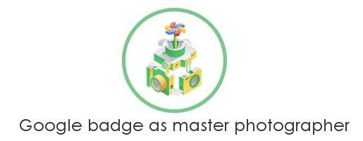 google badge master photographer