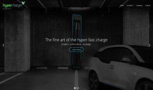 hypercharger Landingpage